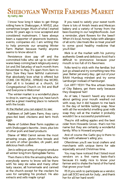 Goodside Grocery Newsletter Winter 2013 pg 2