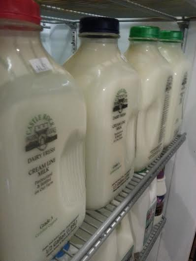 Castle Rock Milk delivered today (and all Fridays!)